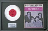 "THE SEARCHERS-7""Platinum Disc&songsheet-WHEN YOU WALK IN---"